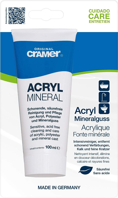 Cramer, Prodotto per la pulizia e lucidatura di superfici in acrilico'Acryl-Star' (2 in 1) - 30200 Prodotto per la pulizia e lucidatura di superfici in acrilicoAcryl-Star (2 in 1) - 30200 S208