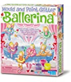 4M Glitter Ballerina Mould and Paint