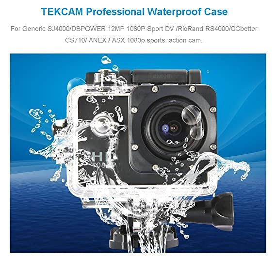 Amazon.com: tekcam Professional Funda impermeable para ...