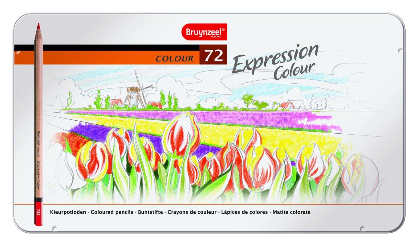 Bruynzeel Expression Targa in 72Matite Colorate, tela, non disponibile, 0.21x 3.38x 1.92cm Royal Talens 7705M72