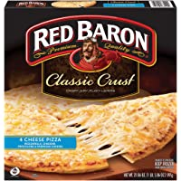 Deals on Red Baron Classic Four Cheese Pizza 21.06 Oz  (Frozen)