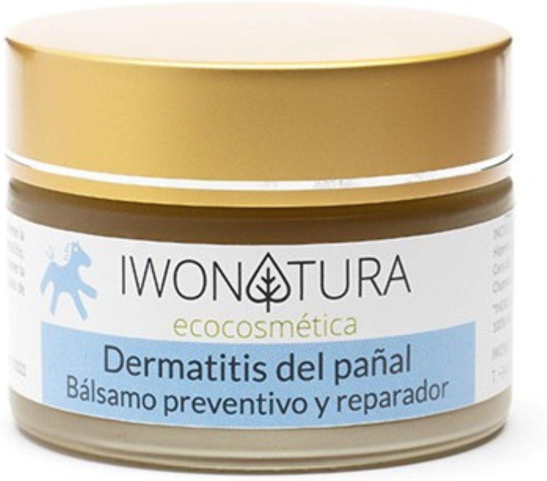 Iwonatura Crema Culito Bebé Bio - Crema pañal con caléndula y cera de abeja natural, 1 unidad (1 x 30 ml)