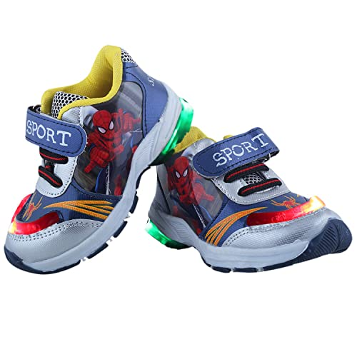 072126ed3d0d LNG Lifestyle Boy-Girls Led Light Velcro Sneakers (Spider-Man)  Buy Online  at Low Prices in India - Amazon.in