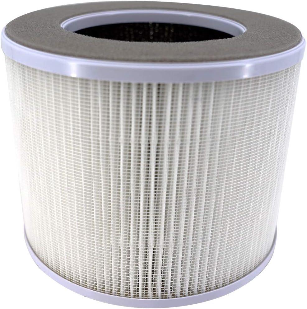 ANSIO 1092 - Filtro de repuesto para purificador de aire con filtro de carbón activado HEPA (1091, 1099 purificador de aire): Amazon.es: Hogar
