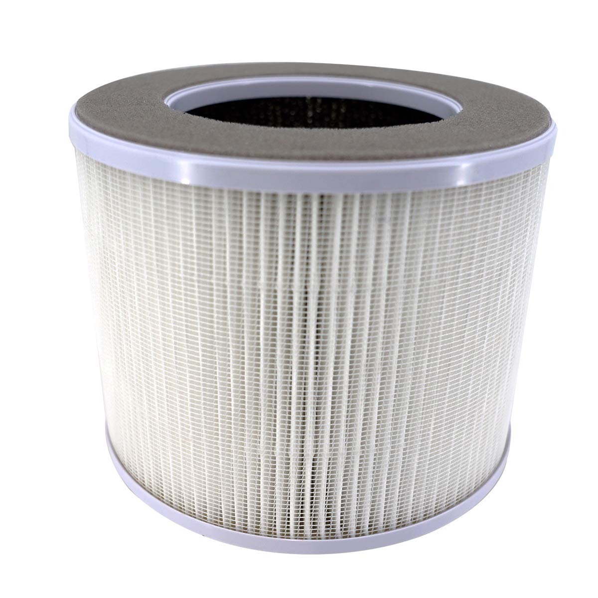 ANSIO 1092 Replacement Filter for Air Purifier with True HEPA Activated Carbon Filter (1091, 1099 Air Purifier)