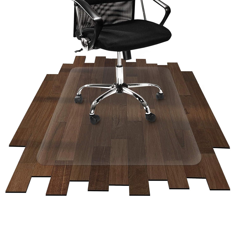 Office Marshal Tappeto salvapavimento ecologico pavimenti duri | Salvaparquet | 100% PET | diverse misure, 75x120 cm