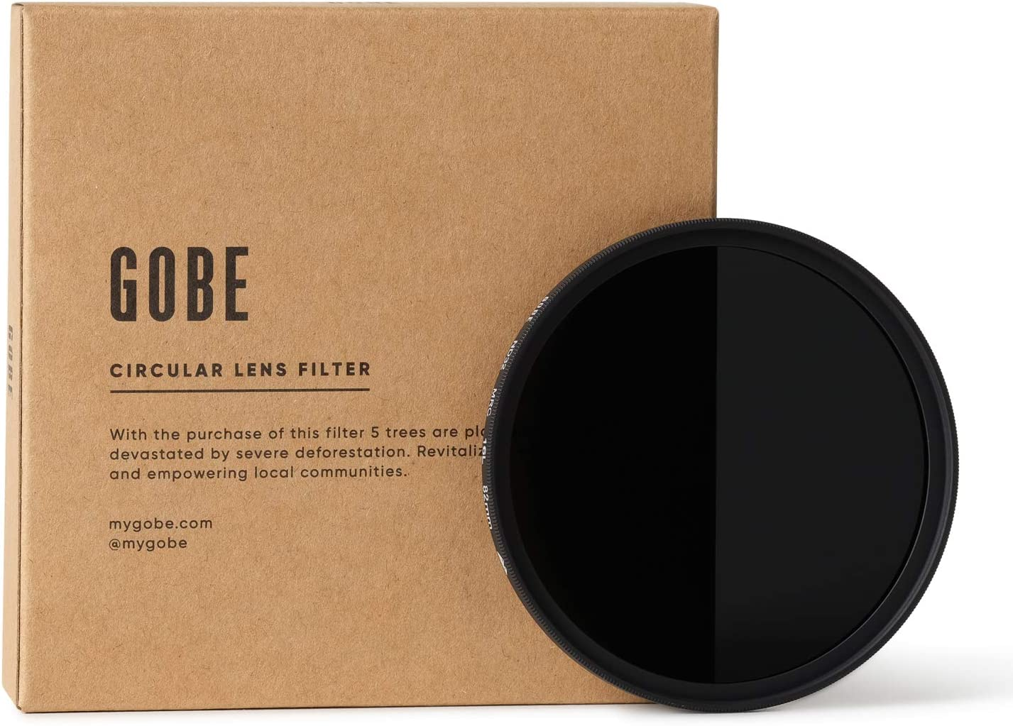 2Peak 5 Stop Gobe 52mm ND32 ND Lens Filter