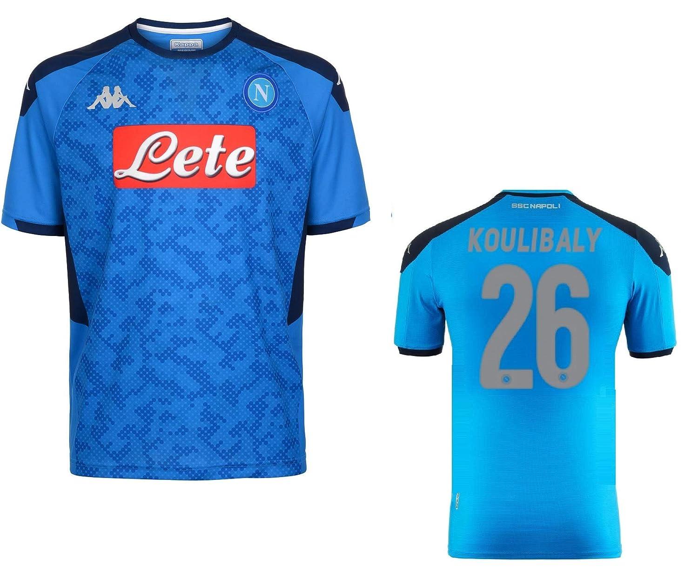 SSC Napoli Maglia Koulibaly Champions League 2019-20 Kombat Extra