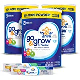 Similac 雅培 Go & Grow 婴幼儿奶粉(适用年龄12-24个月)组合包 36盎司(1.02kg)3罐装+ On-The-Go 2袋便捷装 部分库存效期至2019年5月1日