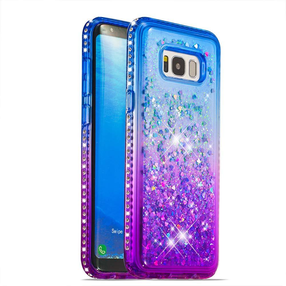 E-Lush Case for Samsung Galaxy S8 Plus, Graduated Colorful