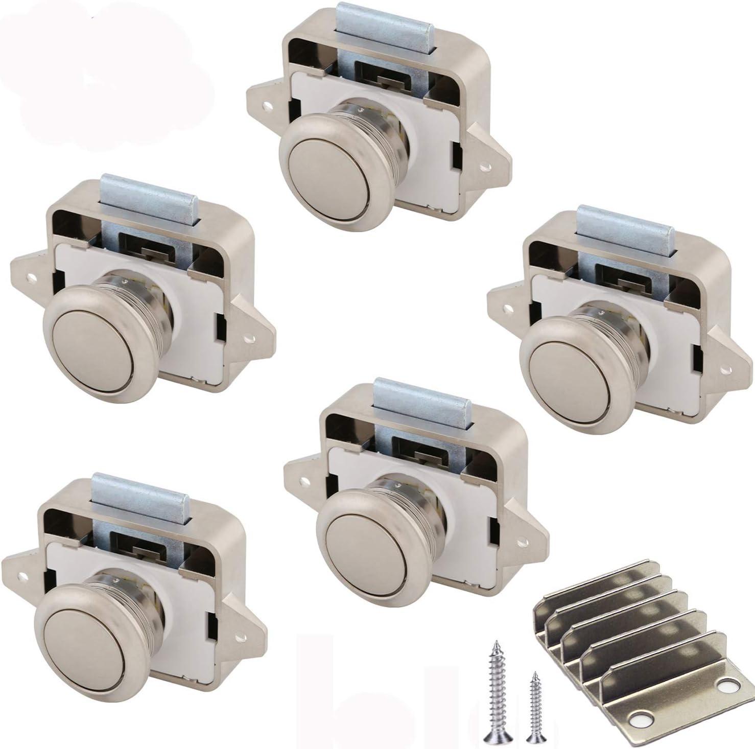 Push Lock, botón Catch Lock 15-18 mm, cerradura para ...