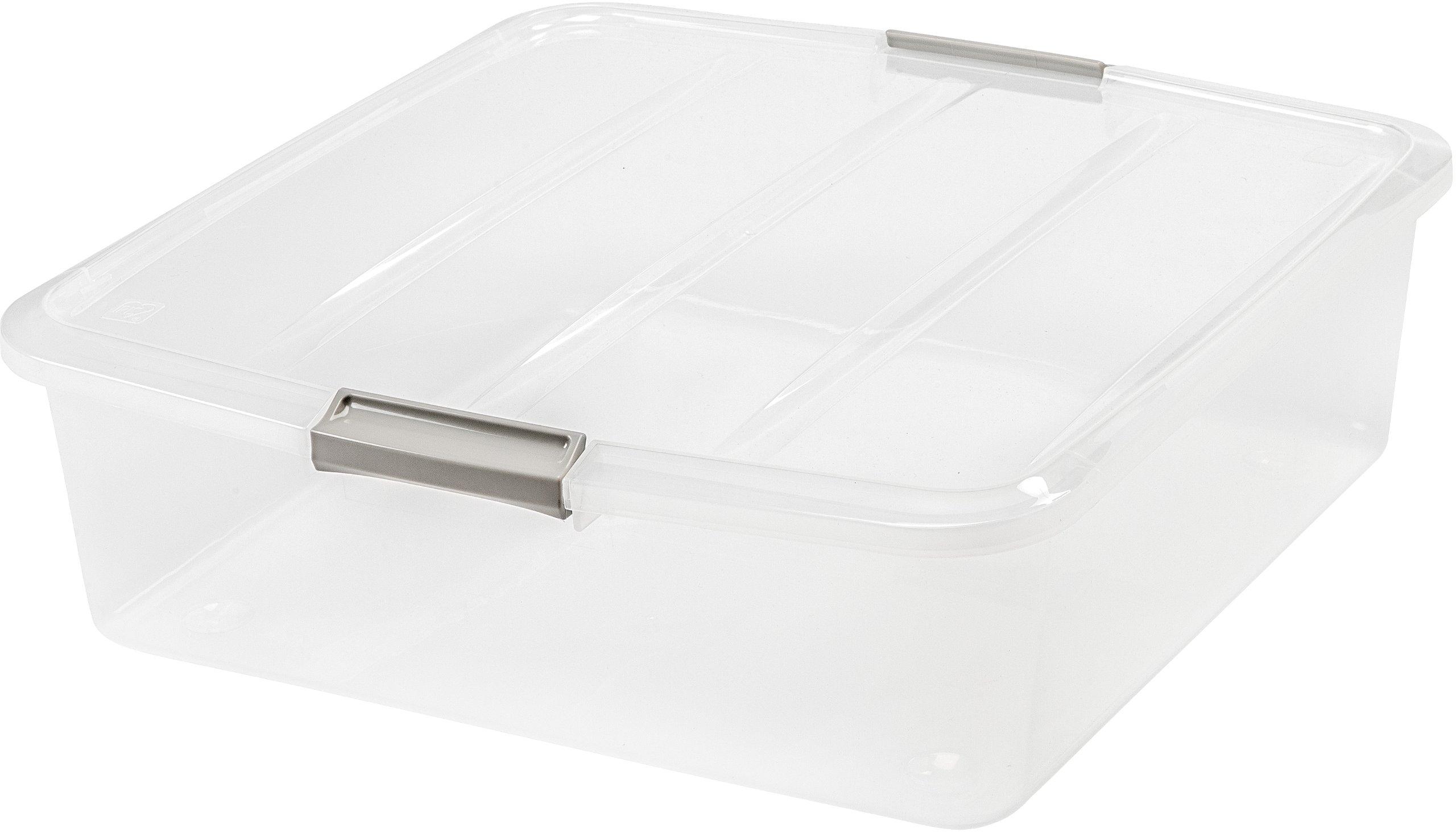IRIS 33 Quart Buckle Up Box, 6 Pack by IRIS USA, Inc.