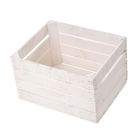 Obstkisten Online Juego de 20 Cajas de Manzanas Blancas/Caja de ...