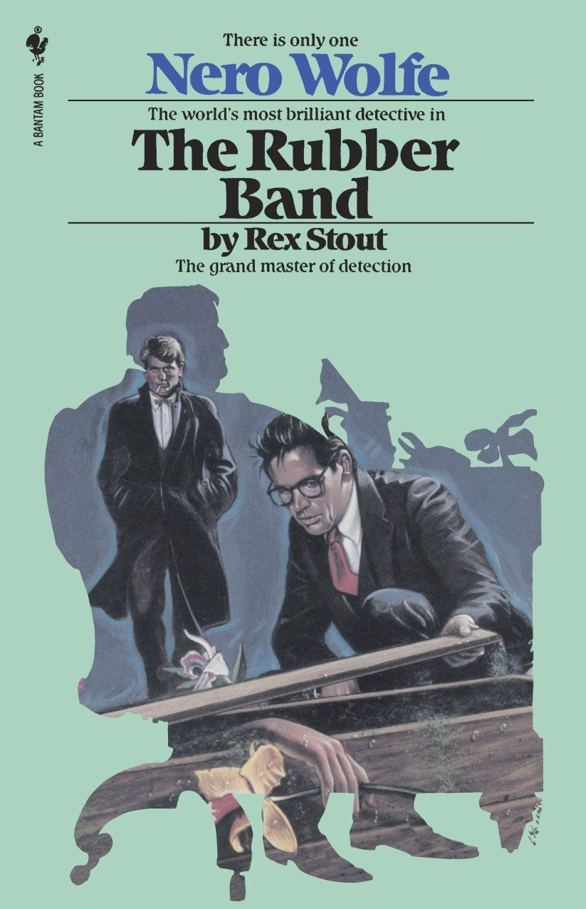 The Rubber Band (Nero Wolfe) PDF Text fb2 ebook