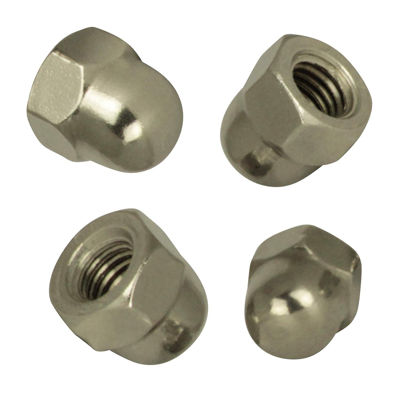 20 St/ück Eichelmutter BiBa-Schrauben Hutmuttern hohe Form M12 | DIN 1587 Edelstahl A2 V2A