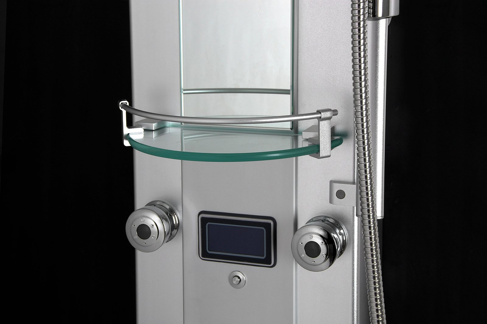 AKDY 5333D 51'' Aluminum Rain Style System with 3 Colors LED Shower Panel by AKDY
