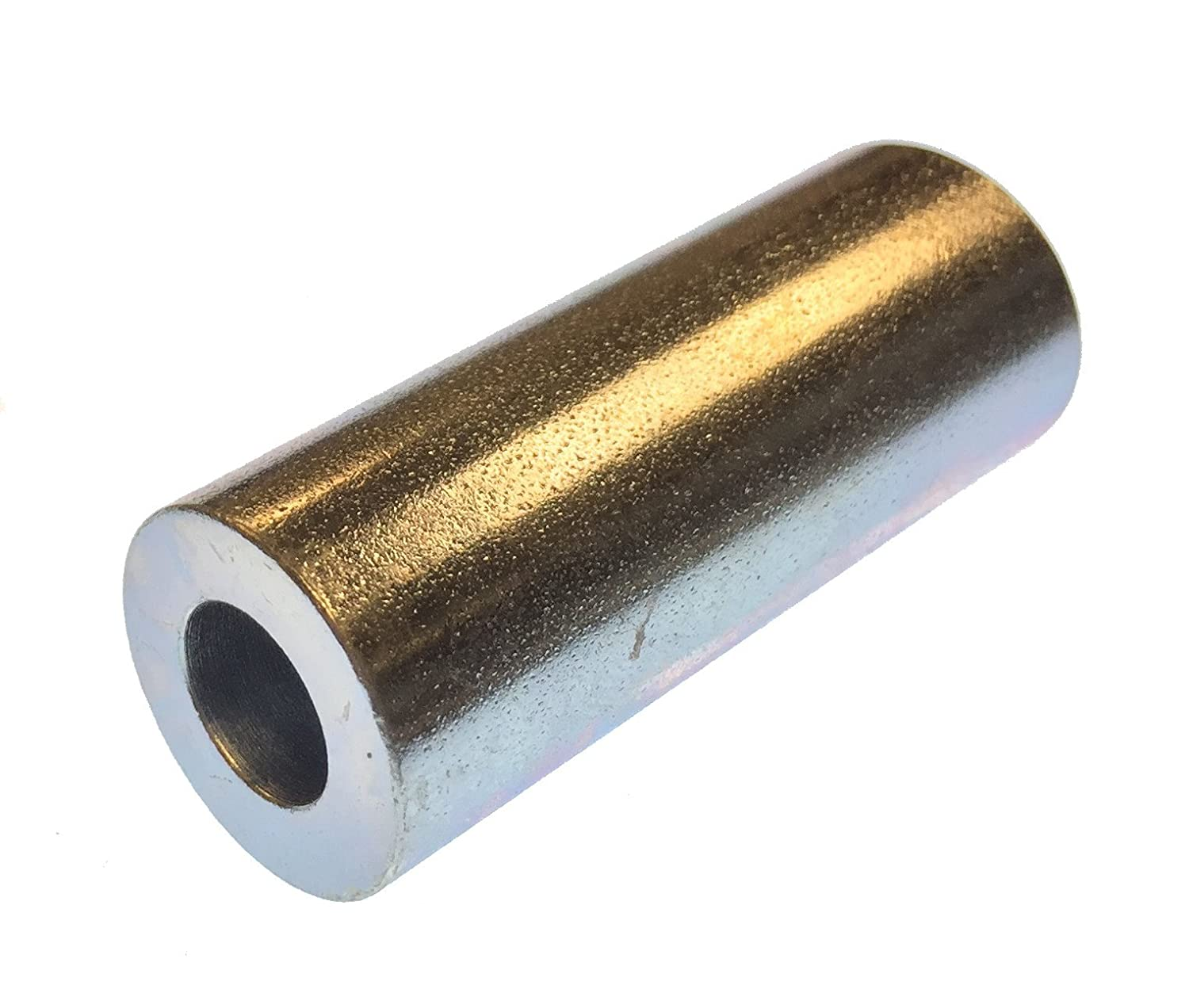 Pack of 10 1//8 OD 0 Screw Size 0.064 ID Lyn-Tron Zinc Plated Finish 1//4 Length Brass