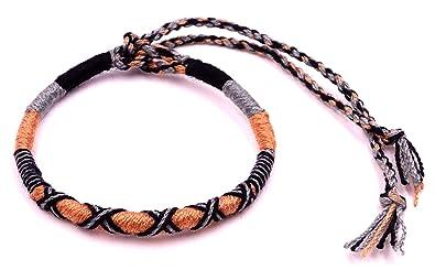 super populaire fabd7 b7b28 MADE IN ZEN Bracelet Brésilien de l'Amitié Macramé Coton ...