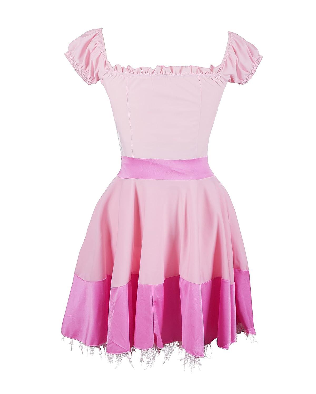 Disfraz de Emma\'s Wardrobe de la Princesa Peach - Incluye vestido de ...