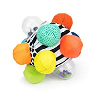 Sassy Developmental Bumpy Ball | Easy to Grasp Bumps Help Develop Motor Skills | for Ages 6 Months and Up | Colors May Vary