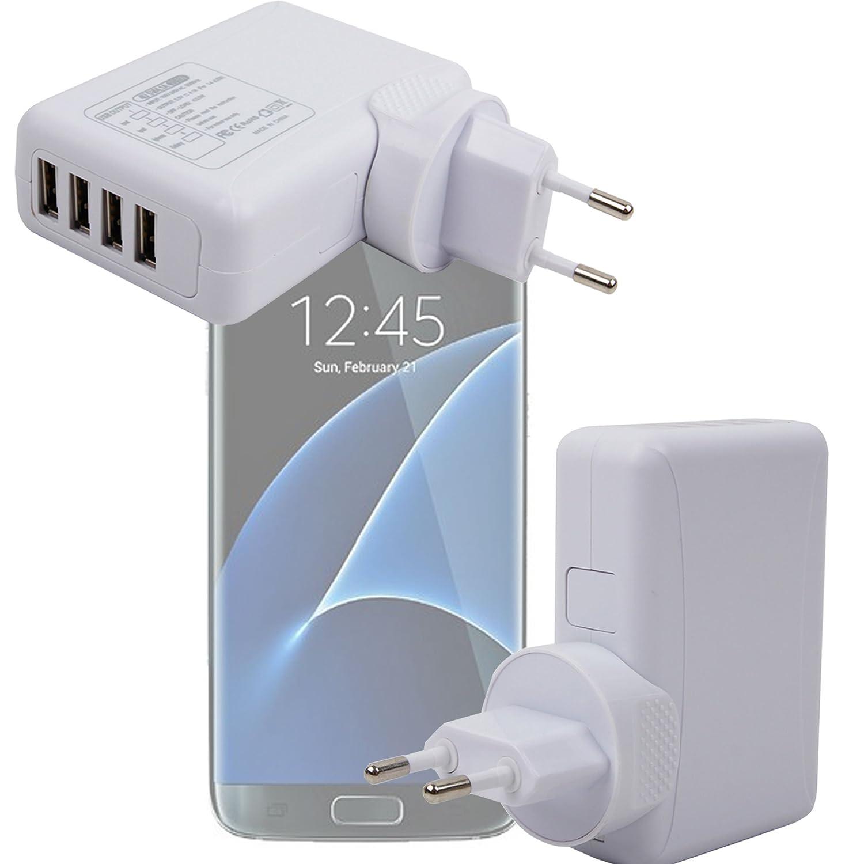 DURAGADGET Cargador De Viaje para Smartphone Samsung Galaxy ...