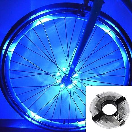 ZUOAO Brillante Bicicleta Rueda Luces Funcionamiento de la Batería ...