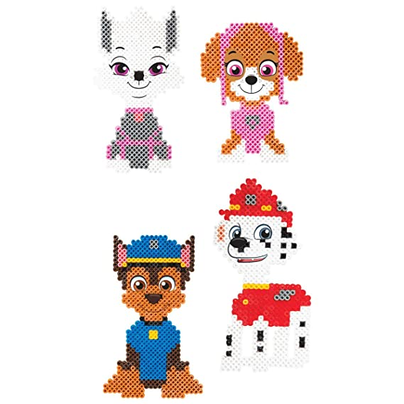 Nickelodeon Paw Patrol Meltumz Beads Bügelperlen Set Amazonde