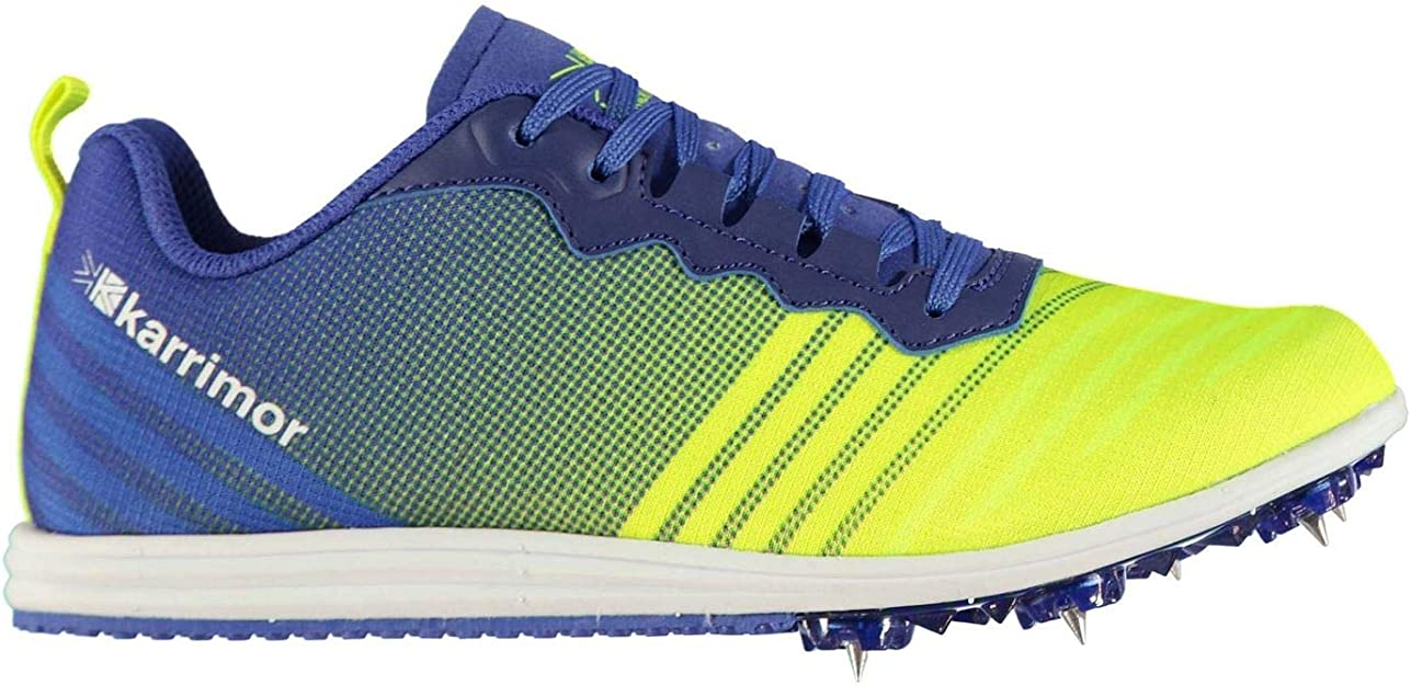 Karrimor Unisex Niños Run Spike Zapatillas Deportivas De Running Azul/Amarillo 39 1/3 EU: Amazon.es: Zapatos y complementos