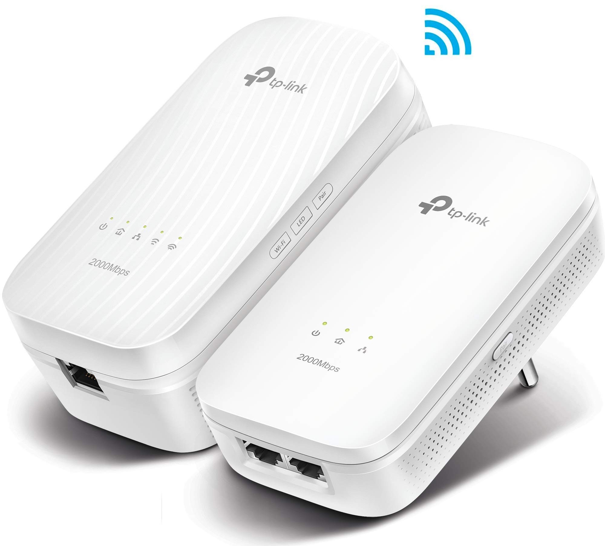 TP-Link AV2000 Gigabit Powerline AC Wi-Fi Kit TL-WPA9610 KIT (Renewed) by TP-LINK