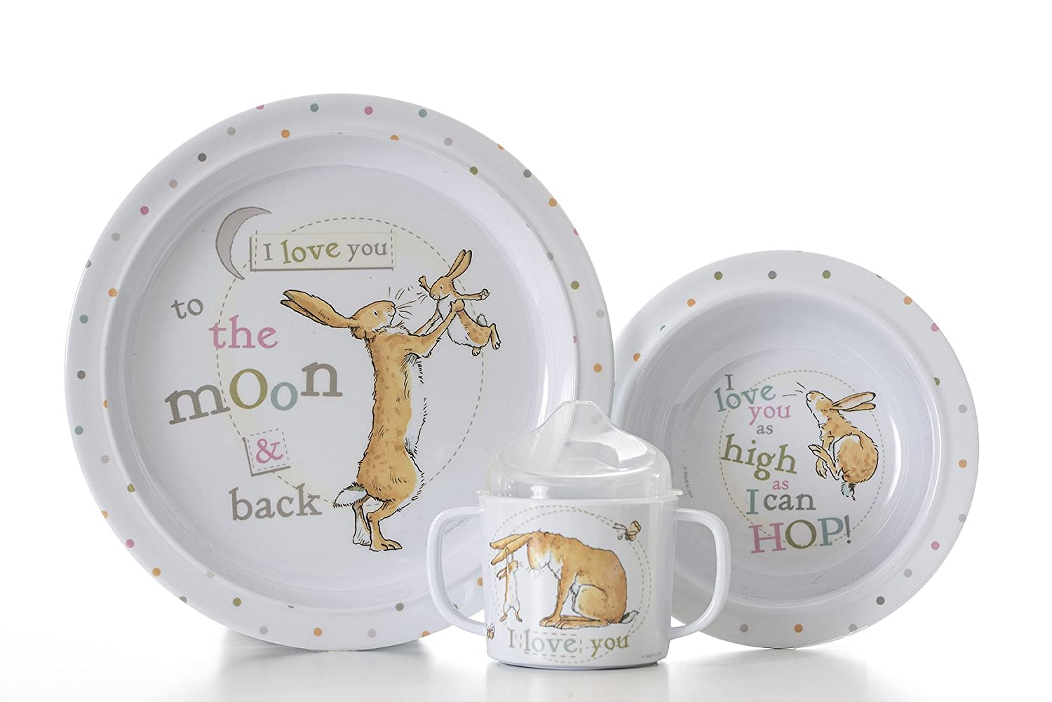 Amazon.com Guess How Much I Love You Baby\u0027s First Breakfast Set - Unisex Baby Gift Set Toys \u0026 Games  sc 1 st  Amazon.com & Amazon.com: Guess How Much I Love You Baby\u0027s First Breakfast Set ...