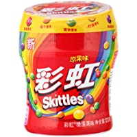Skittles彩虹糖 原味瓶装120g
