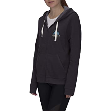 Hurley W SURFBOW Fleece Zip Sudaderas, Mujer, Oil Grey, XS