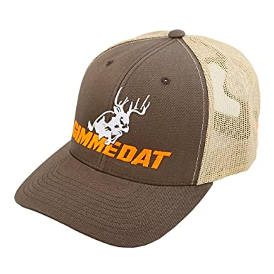 GIMMEDAT Whitetail Trucker Hat Hunting Hat (Brown) at Amazon Men s ... 244f20a48faf