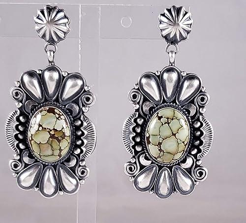 Navajo Handmade Turquoise Earrings