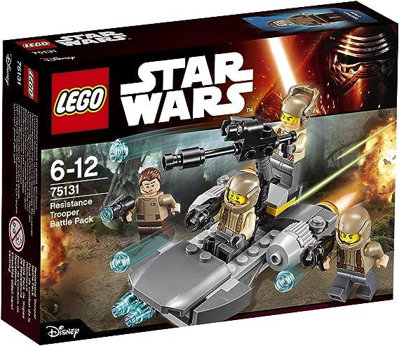 LEGO STAR WARS - Pack de Combate de la Resistencia, Multicolor (75131): Amazon.es: Juguetes y juegos
