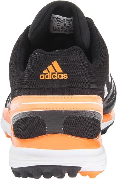 the best attitude e7730 98697 adidas Mens Adizero Sport II Golf Shoe,BlackWhiteSolar Blue,9. Back.  Double-tap to zoom