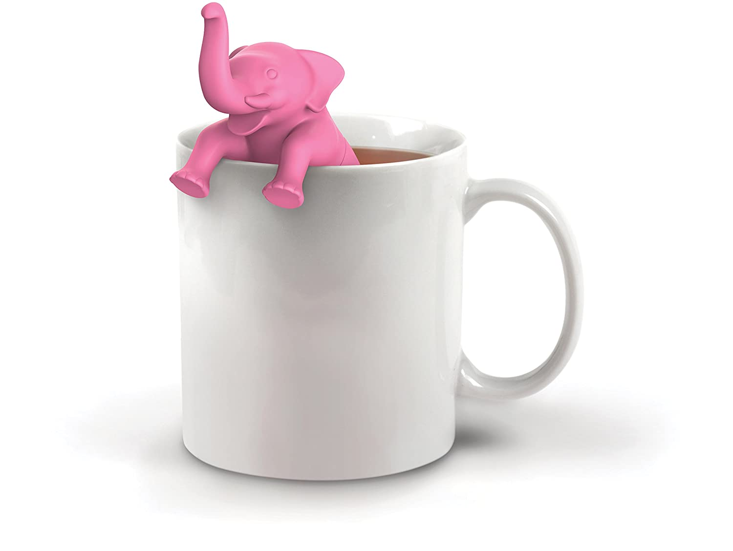 aae776501 Amazon.com  Fred BIG BREW Elephant Silicone Tea Infuser  Kitchen   Dining