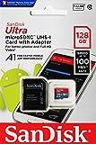 SanDisk microSDXC 100MB/s 128GB Ultra SD変換アダプター付属 サンディスク SDSQUAR-128G 海外パッケージ品 [並行輸入品]