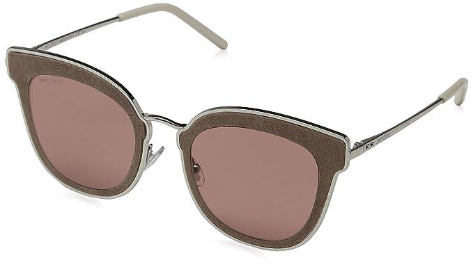 Jimmy Choo Nile/S 2M S0J 63 Gafas de Sol, (Silver Beige/BW ...