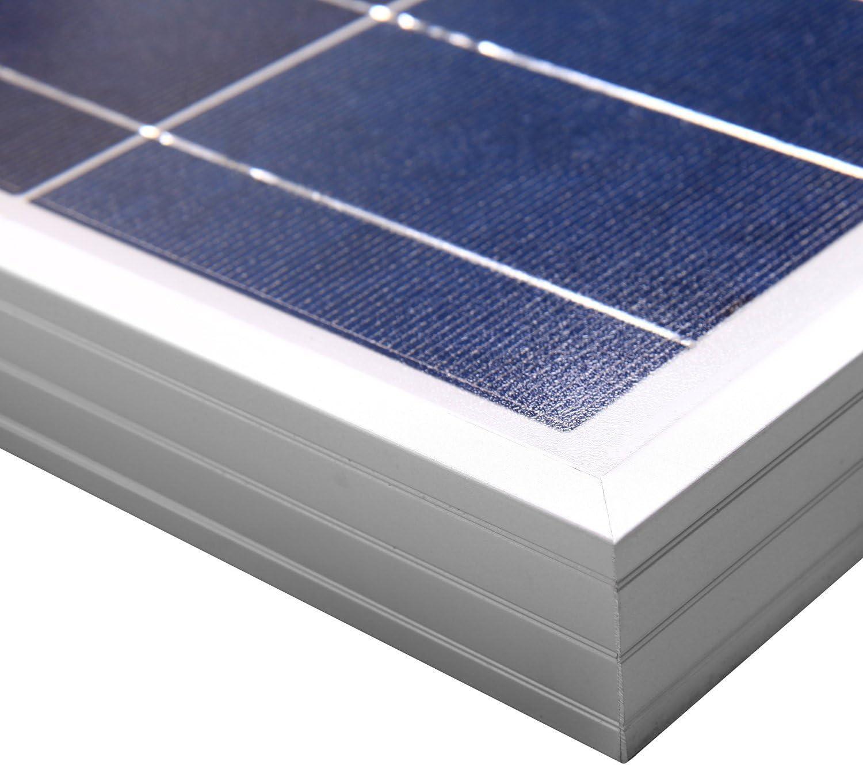 legame di griglia 500W di potenza per cavi Inverter Solar ECO-WORTHY 600W Il legame di griglia kit completo pannello solare di sistema: 6pcs 100 pannelli solari Watt Poly MC4 Branch Connettori