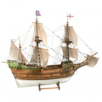 BILLINGS Boats (B801) Mayflower Model Ship Kit (3) - Easy to ...