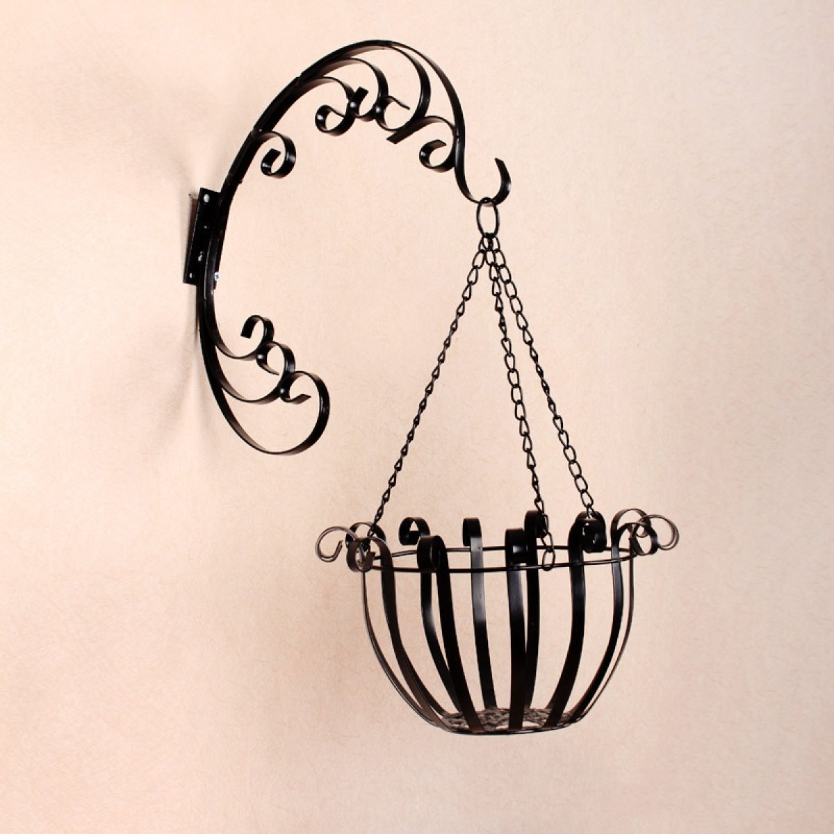 L;IAN Flower Pot Rack European Creative Hanging Wall Balcony Flower Stand