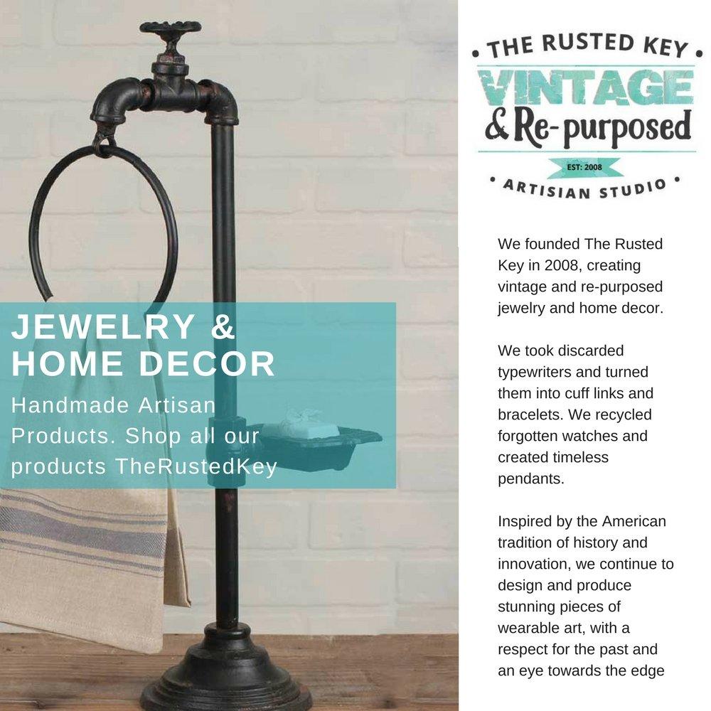 Amazon.com: Industrial Water Spigot Towel Ring: Home & Kitchen