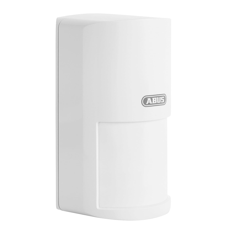 ABUS Funk-Bewegungsmelder Smartvest für Funk-Alarmanlage | Raum-Überwachung | kabellose Montage | Batteriebetrieben | weiß | 38829 FUBW35000A