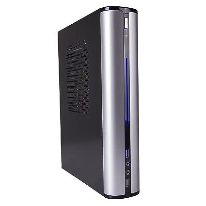 CUK Axiom TS Tiny Gamer Desktop (AMD Ryzen 5 2400G + Radeon RX Vega 11, 8GB  3000MHz DDR4 RAM, 500GB SSD, AC WiFi, Windows 10 Home) Small Form Factor