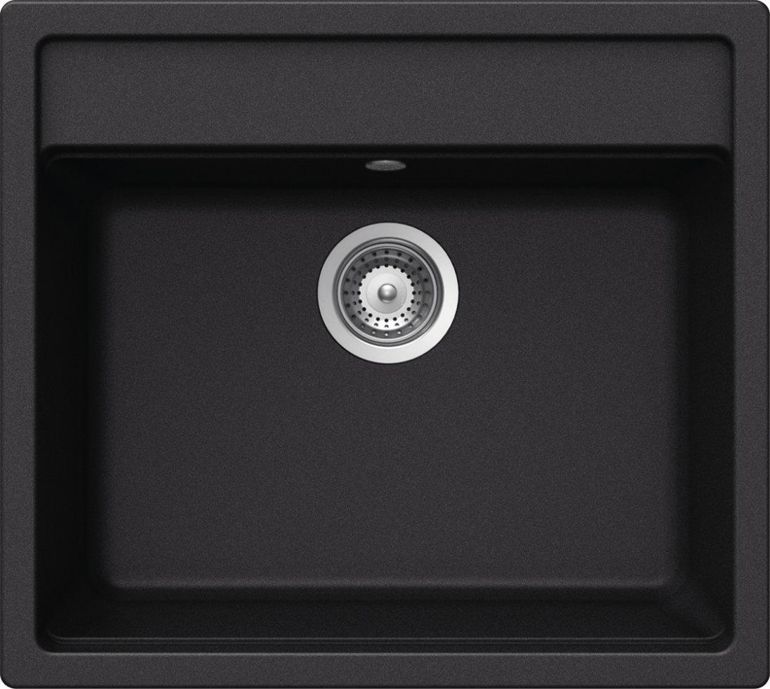 Schock Küchenspüle Nemo N-100, Auflage in Nero: Amazon.de: Baumarkt