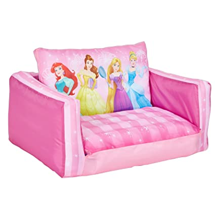Merveilleux Disney Princess Inflatable Flip Out Sofa