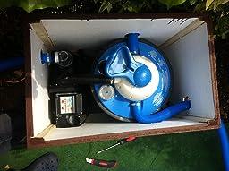 Miganeo® Sandfilteranlage 8,5 m³ Pumpe mit integrierter
