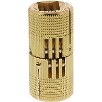ToniTec Inboorscharnier onzichtbaar exacte cilinder scharnier meubelband messing