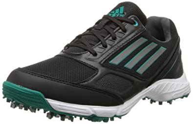 adidas JR Adizero Sport Golf Shoe (Little Kid/Big Kid), Black/